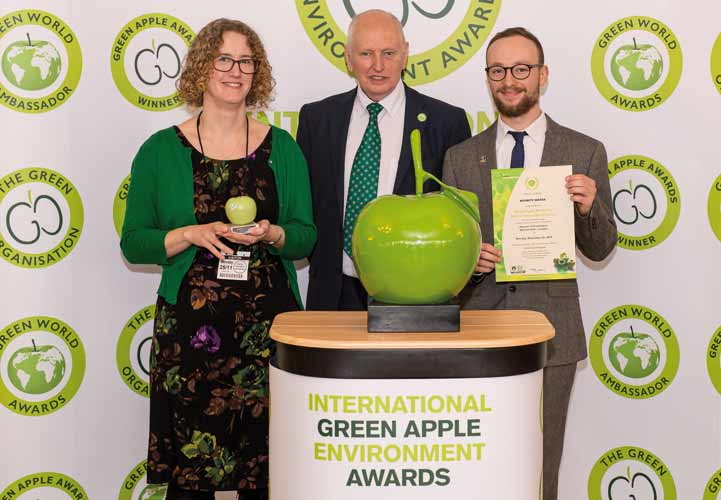 Green Apple Awards Winner