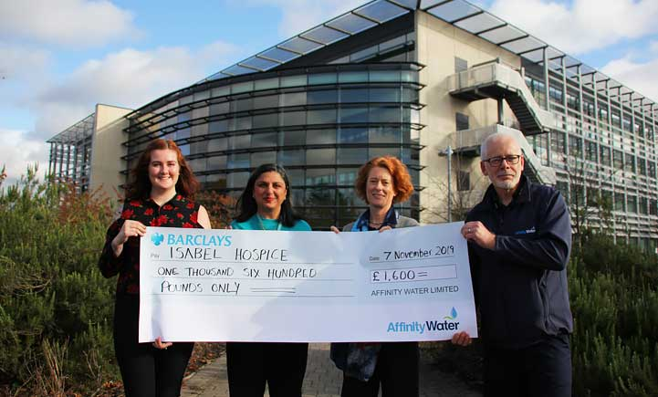 Time to Give raises £1,600 for Isabel Hospice