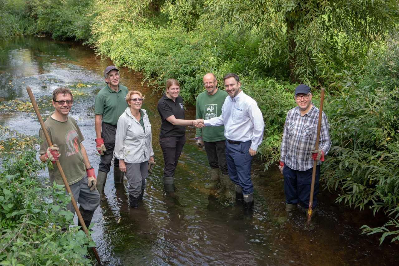 Herts Middlesex Wildlife Trust gets a funding boost from local water company Affinity Water