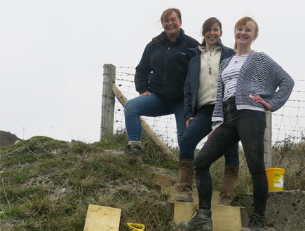 Volunteers join forces to help local landmark