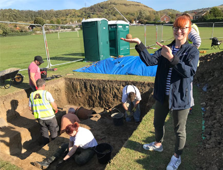 Digging deep to help discover a lost ancient watercourse