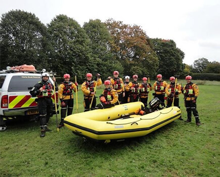 Hertfordshire Boat Rescue gets a helping hand