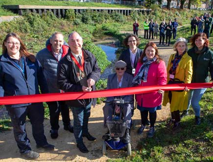 Manor Road Park re-opens